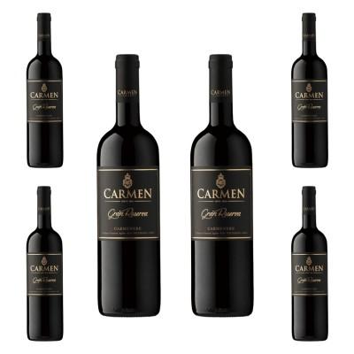 Carmen - Gran Reserva Carmenere 2018 x 6 卡門酒莊頂級佳美娜紅酒套裝